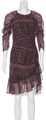 Ulla Johnson Silk Printed Dress w/ Tags