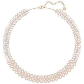 Swarovski Baron All-Around Leaf Collar Necklace