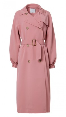 Drape Twill Trench Coat $750 thestylecure.com