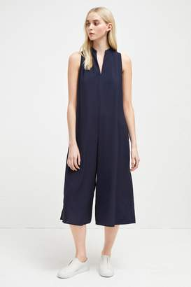 French Connenction Mahi Crepe Solid Jumpsuit