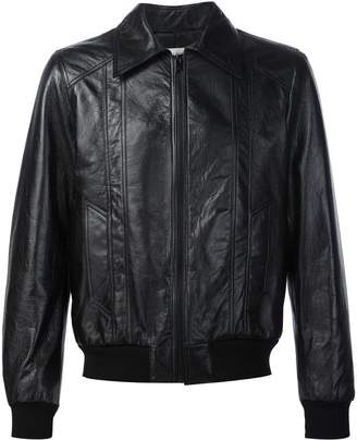 Saint Laurent 70s sunburst leather jacket