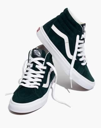 Madewell Vans Unisex SK8-Hi Reissue High-Top Sneakers in Spruce Suede