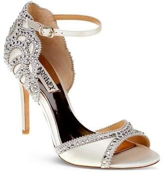 Badgley Mischka Roxy Vintage High-Heel Sandals