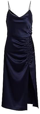 Alice + Olivia Women's Dion Ruched Slip Dress