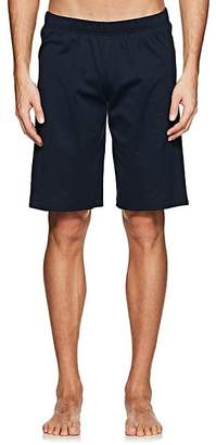 Hanro Men's Night & Day Cotton Shorts - Navy