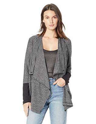 Jones New York Women's Plus Size Convertible Waterfall Front Cardigan