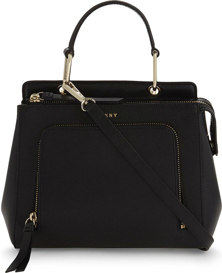 DKNYDkny Bryant Park Saffiano leather shoulder bag