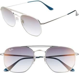 Ray-Ban Navigator 54mm Double Bridge Sunglasses