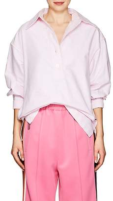 Marc Jacobs Women's Cotton Oxford Cloth Oversized Blouse - Light Pink