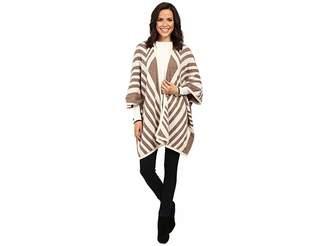 NYDJ Knit Jacquard Cape Women's Clothing