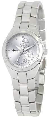 Disney Princess Women's Stainless Steel Fortaleza Watch, Stainless Steel Bracelet