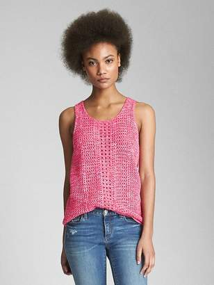 Open-Stitch Tank Top
