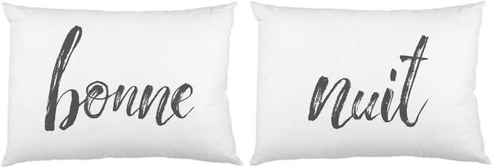 One Bella Casa Bonne Nuit Pillowcases (Set of 2)