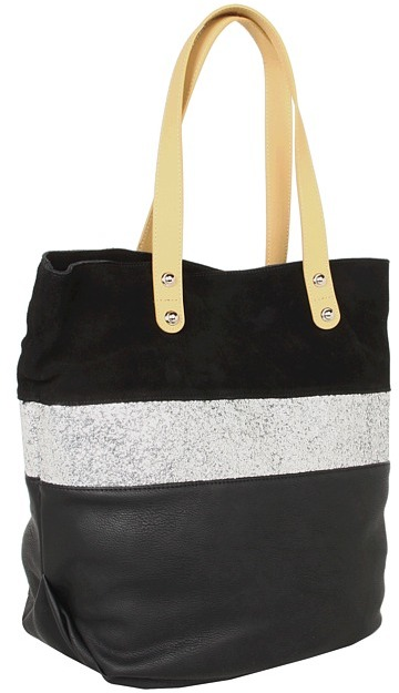 Steve Madden - Glam Tote (Black) - Bags and Luggage