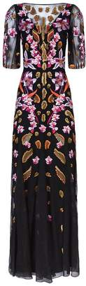 Temperley London Pardus Embroidered Gown