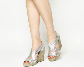 Office Holiday Wedge Espadrilles