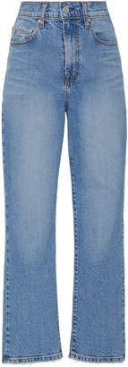 Nobody Denim Charlotte High-Rise Straight-Leg Jean