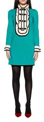 Gucci Women's Light Blue Viscose Dress.