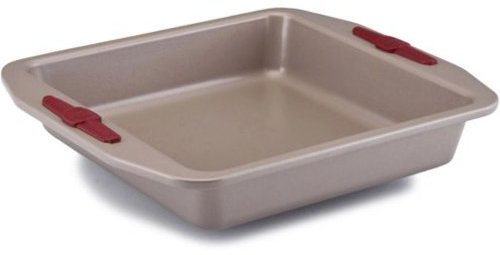 Paula Deen 9x9-in. Square Nonstick Signature Bakeware Cake Pan, Champagne
