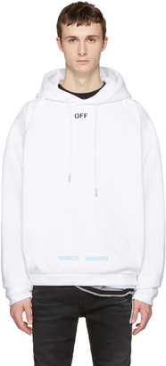 Off-White White 'Off' Hoodie $575 thestylecure.com