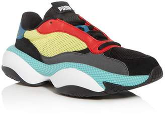 Puma Men's Alteration Kurve Color-Block Low-Top Sneakers
