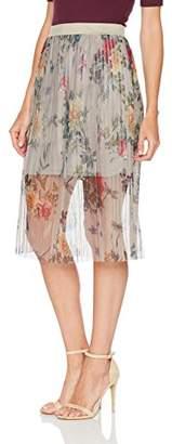 Only Women's Onlnanna Tulle Midi WVN Skirt
