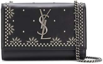 Saint Laurent studded cross-body bag