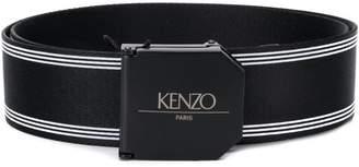 Kenzo adjustable buckle belt