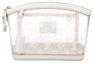 Louis Vuitton Transparent Lockit Clutch