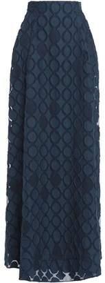 Roland Mouret Fil Coupé Organza Maxi Skirt
