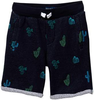 Andy & Evan Cactus French Terry Shorts (Toddler & Little Boys)