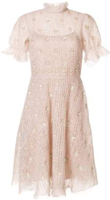 Valentino sequinned knit dress