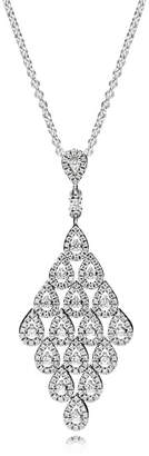 Pandora Cascading Glamour Necklace - Sterling Silver