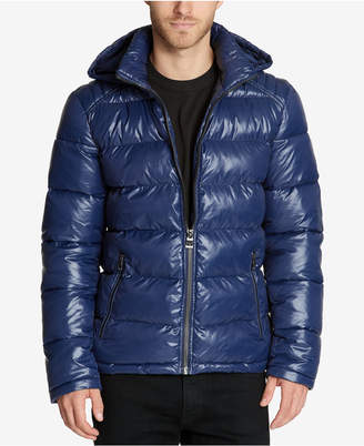 GUESS Men Hooded Puffer Coat