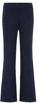 Joseph Rib-knit cashmere trousers