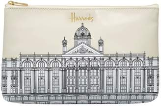 Harrods Illustrated Building Cosmetic Bag