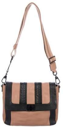 Anya Hindmarch Leather Flap Shoulder Bag