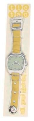 Toy Watch Ah, Quel Plaisir Tic-Tac Yellow Green Strap