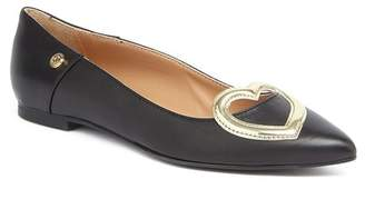 Love Moschino Pointed Toe Flat