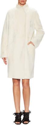 Proenza Schouler Dolman Wrap Front Coat