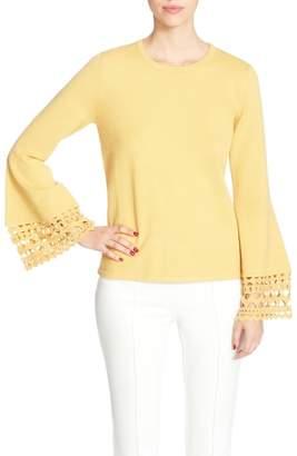 Catherine Malandrino Deco Bell Sleeve Sweater