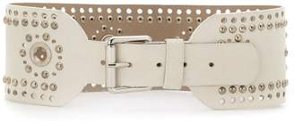 Nk studded leather belt