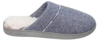 Dearfoams DF by Women's Casual Knit Closed Toe Scuff Slippers