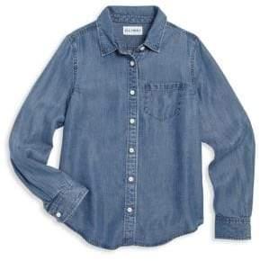 Girl's Patch Pocket Shirt