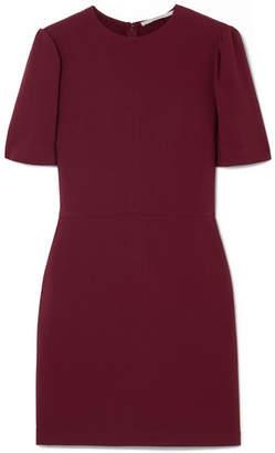 Stella McCartney Cutout Stretch-cady Mini Dress - Burgundy