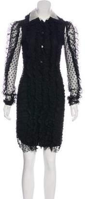 Philosophy di Lorenzo Serafini Lace Knee-Length Dress