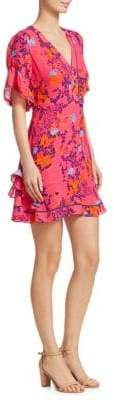 Tanya Taylor Kayla Falling Floral Dress