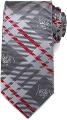 Cufflinks Inc. Cufflinks, Inc. Star Wars(TM) Darth Vader Plaid Silk Tie