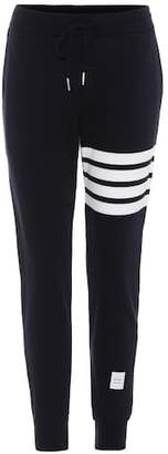 Thom Browne Striped cotton trackpants