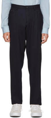 BOSS Navy Gaetano-1 Trousers